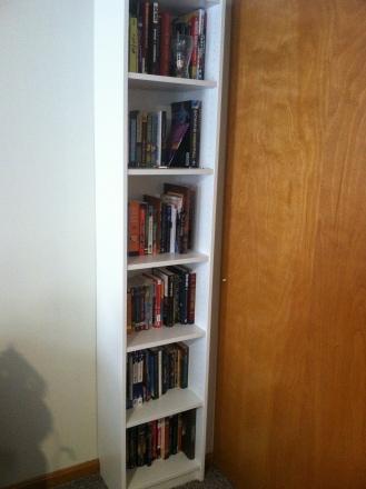 A shelf of read books